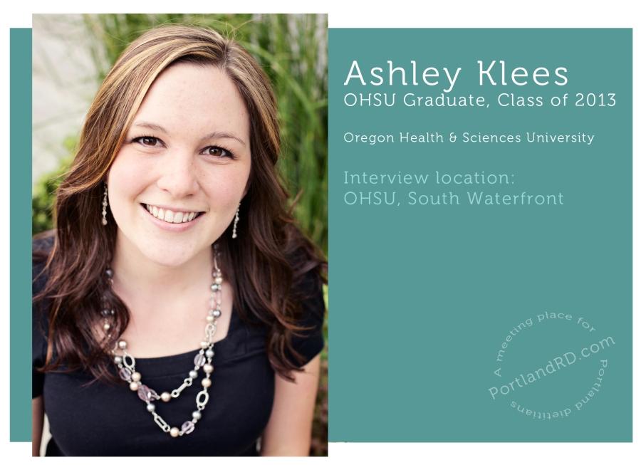 Ashley Title- ohsu grad